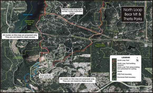 The North Loop and Thetis Lake Regional Park